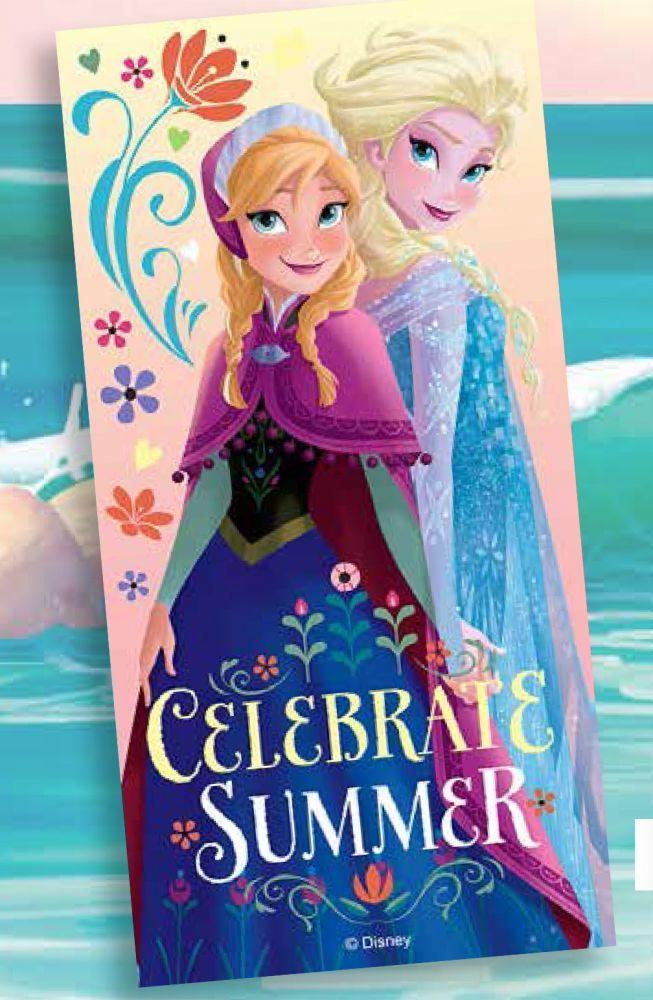 BabyTreasure- Πετσέτα θαλάσσης Frozen Disney - Frozen - 14,50€