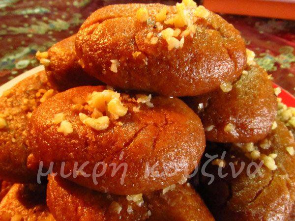 Μελομακάρονα - μικρή κουζίνα