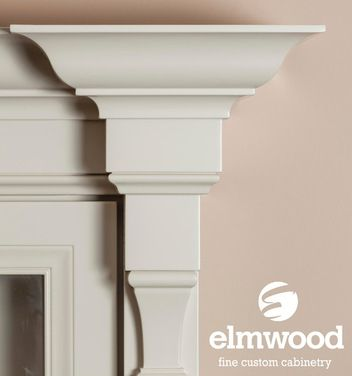 *Moulding Monday* This crown moulding stack consists of our EK70 crown stacked on top of our furniture base EKCB10.