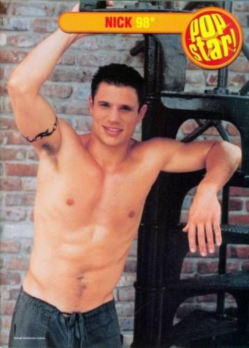 NICK-LACHEY-SHIRTLESS-98-DEGREES-11-034-x-8-034-PINUPS-POSTER