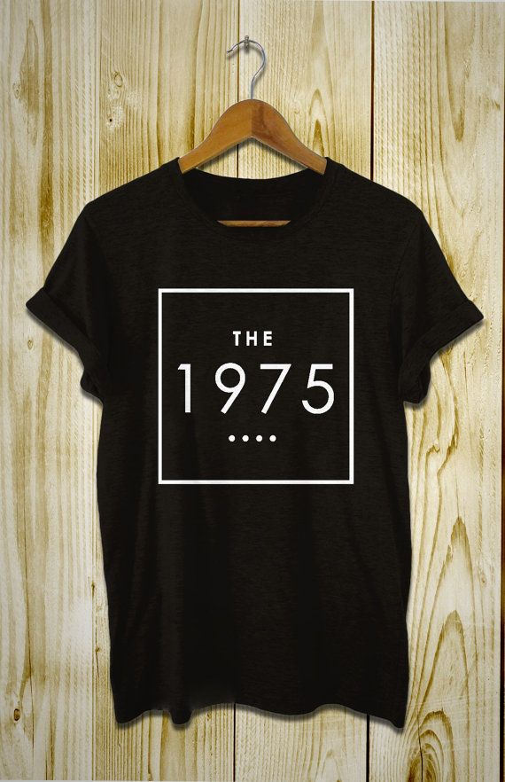 the 1975 band shirt women and men t shirt more size available