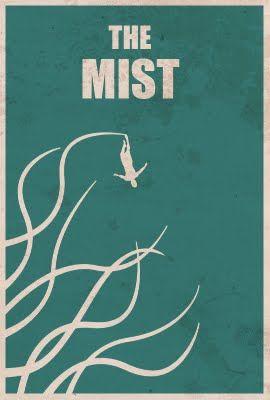The Mist - Minimalist Horror Posters