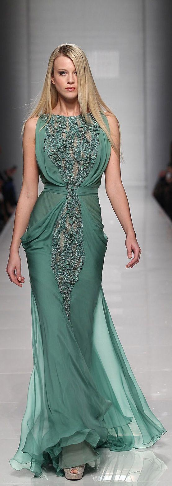| Breathraking Tony Ward dress by Lailah