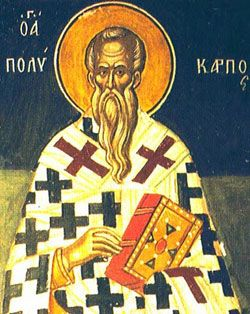 St. Polycarp of Smyrna bio at CatholicOnline