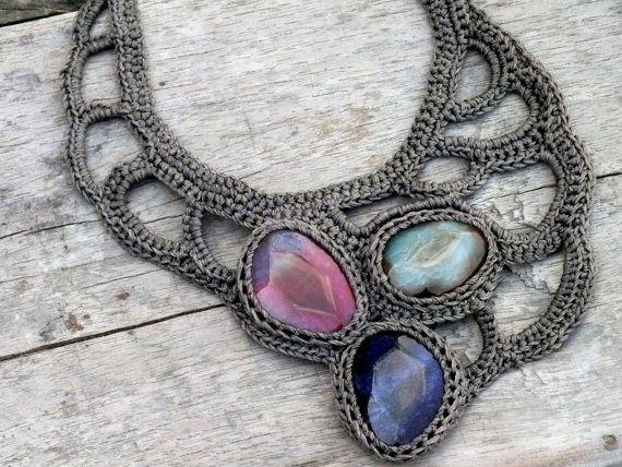 Big necklace by AmorArt