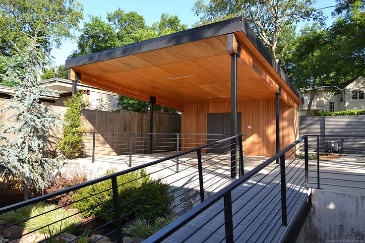 Modern Enclosed Carport : Best modern carport ideas on pinterest