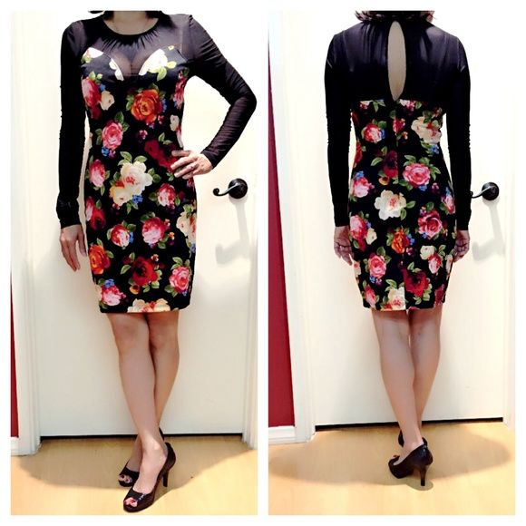 """Party dress""""GUESS"""" I bought a nice dress last year. It's Brand name, new but without tag. I hadn't been worn. Made in Indonesia. 97% polyester. The price firm. Guess Dresses"""
