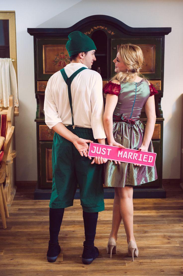 Decor bavarez pentru sedinta foto Trash the dress Bavarian decor for Trash the dress photo session