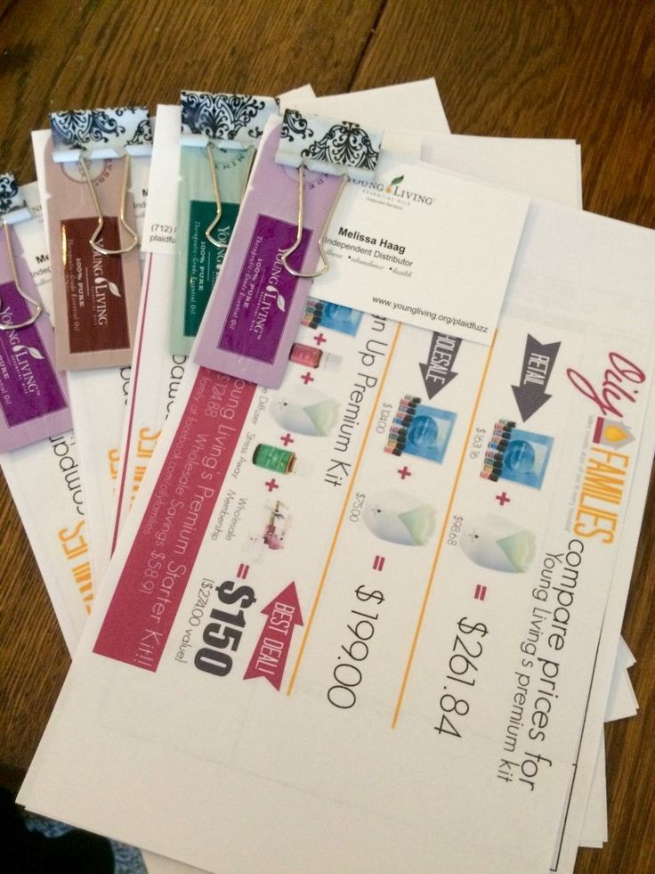 25+ best ideas about Doterra business cards on Pinterest