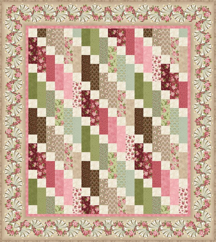 Graceful Moments - Graceful Cascade Free Quilt Pattern