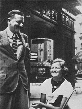 """moonlight-driive: """" 1934. F. Scott and Scottie Fitzgerald. """""""