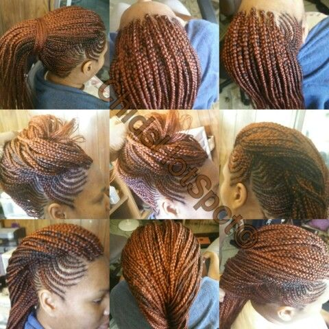 Ghana Weaving Ghana Braids Individual Braids Box