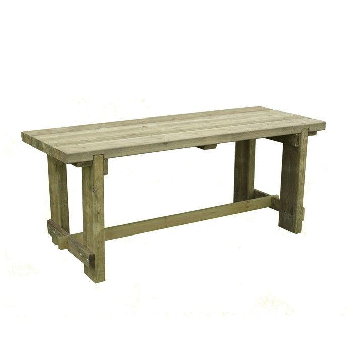 U003cpu003eEnjoy More Time Together Outdoors With This 180cm Length Refectory Table  Which Seats