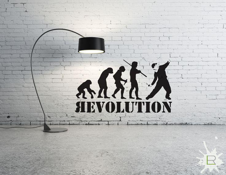 Naklejka Banksy Revolution