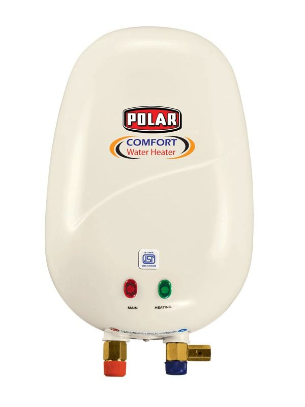 POLAR AQUAHOT WATER HEATER A combination of features, style and utility, the POLAR 1L WHCO1P1 water heater is an excellent choice.   #Buy_Geyser_in_India  #Online_geyser