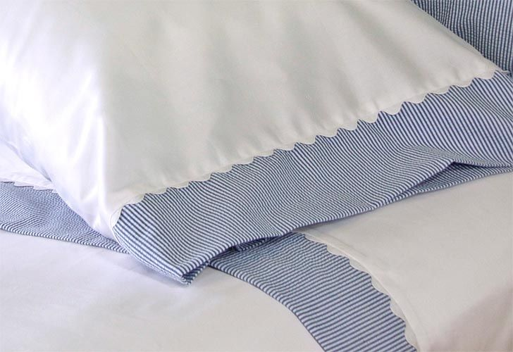 A cool way to make a unique pillowcase for the girls without buying a yard or more of fabric and making it from scratch.