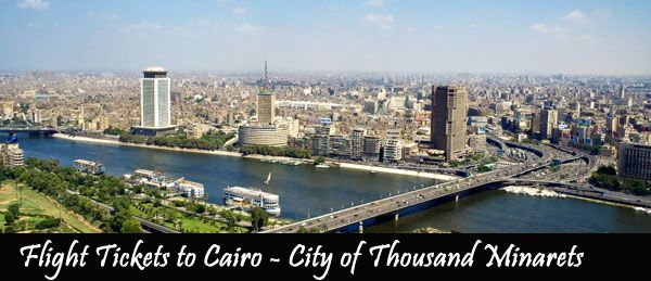 Myriad Charmers That Make Flight Tickets to Cairo Popular