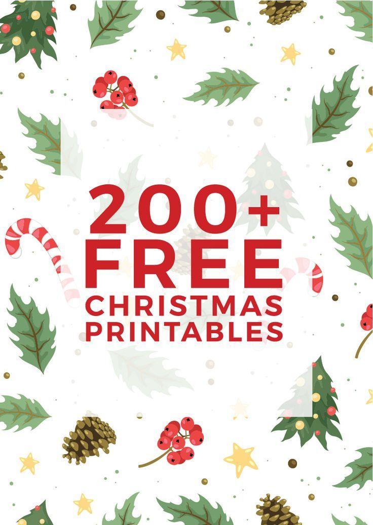 Free Christmas Printable: 1000+ Ideas About Christmas Printables On Pinterest