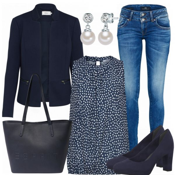 Business Outfits: PerlenLook bei FrauenOutfits.de