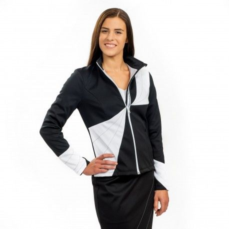 Acacia-Rosea Design Jacket - Protection against harmful Electromagnetic Waves & Mobile ------- OnyxPro ------- with EM Pro Shield function. Fashionable softshell special design jacket to protect your body from high frequency #electromagnetic #waves, to make you look professional and elegant with its fashionable combination of colours and slim-fit design. ------- #Shielding #strength: 60.5 dB at 1 GHz (20% pure #silver content, no nano silver used) ------- 550 €