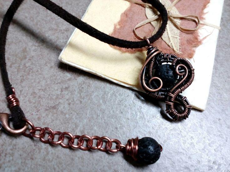 Τσοκερ λάβα χαλκός /Choker lava copper