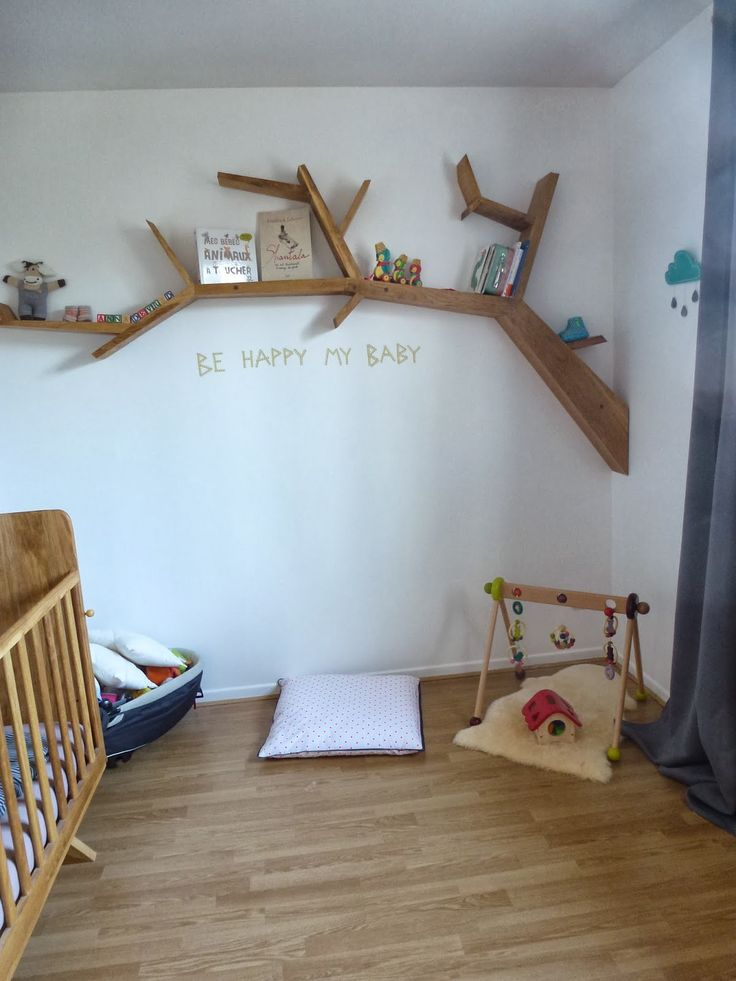 Inspiration bird tree baby room