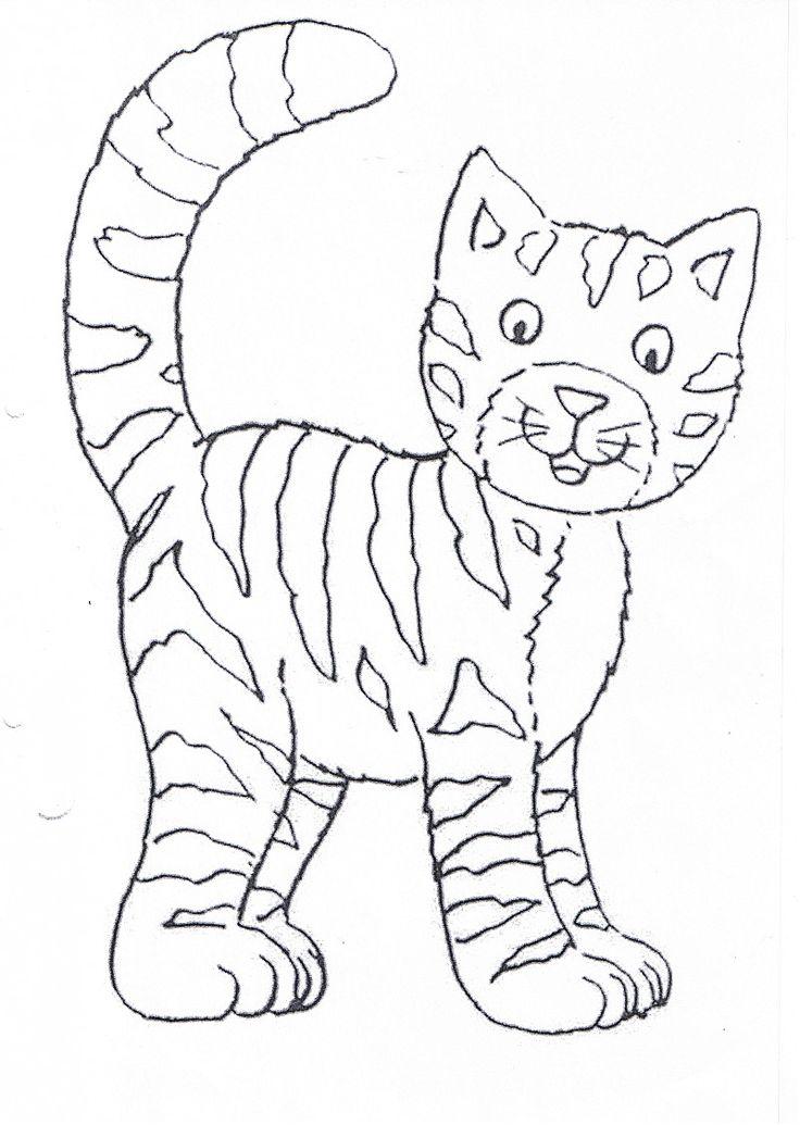 Die Besten 25 Ausmalbilder Katzen Ideen Auf Pinterest