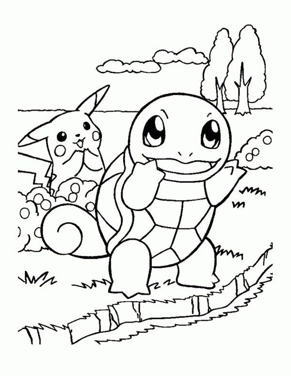 Free Pokemon Pikachu Coloring Pages For Kids