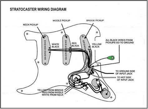 5 best images of american standard stratocaster wiring