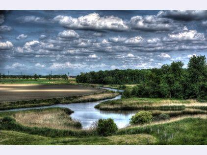 Zicht op Den Inkel te Kruiningen via www.fanvanzeeland.nl