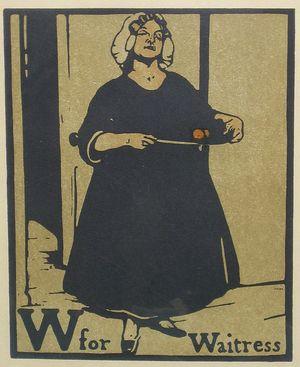 W for Waitress by William Nicholson