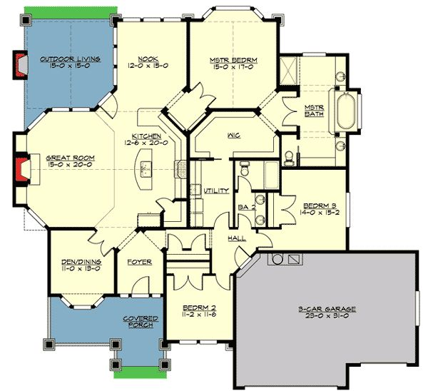 26 Best Images About Craftsman House Plans On Pinterest