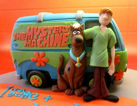 Mystery Machine Scooby Doo cake