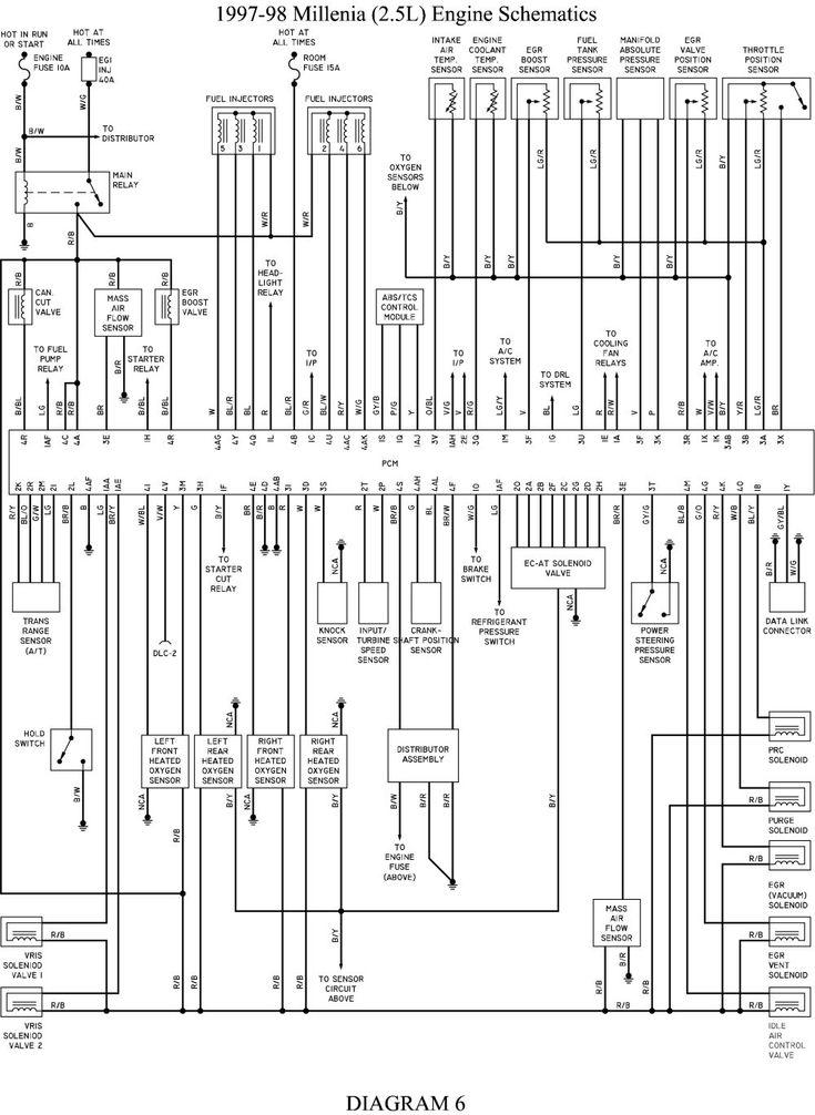 New 2000 Mazda Protege Radio Wiring Diagram in 2020