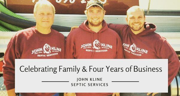 Celebrating family and four years of business... just completed a new press release and a blog post for this awesome local business AND used #canva to create some great marketing photos. Congrats John Kline Septic on 4 years!  #canvalove #lancasterpa #local #smallbusiness #supportlocal #familyowned #blogger #marketing #PR #lancastergram #familyfirst #mompreneur #designer #creative #bossbabe