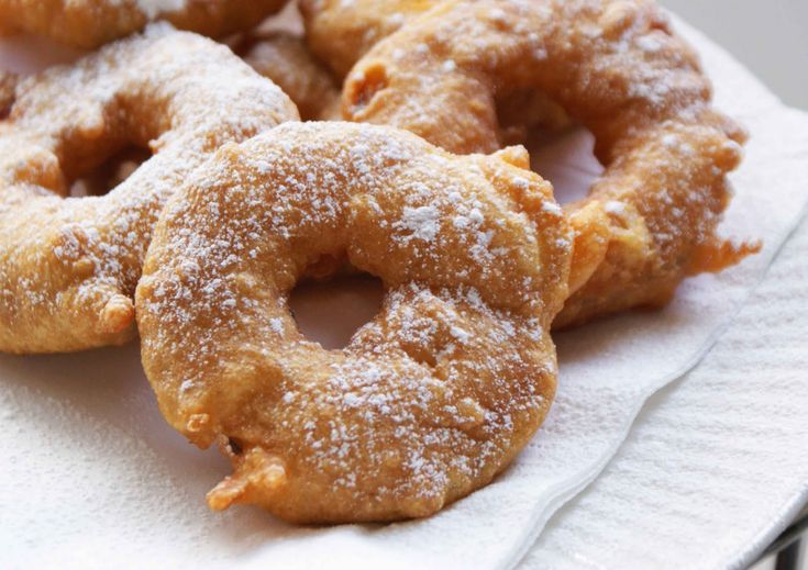 Listening to My Life...: Apple Fritter Rings - Triple Wow