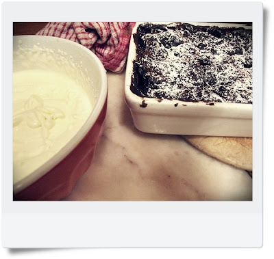 Kids Cook: Chocolate Self-Saucing Pudding (with printable recipe card)