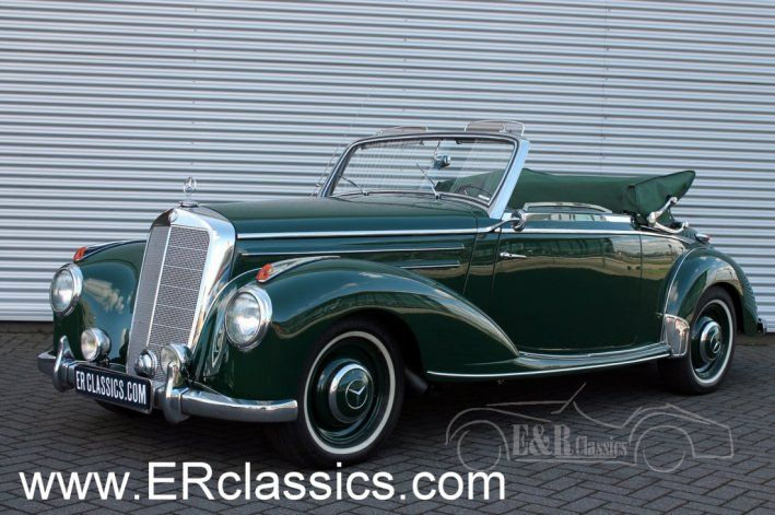 1952 Mercedes-Benz, 220A  Mercedes Benz 220 A Cabriolet 1952 as new  1952 Mercedes Benz 220 A fully body off restored. This unique car is excellent restored and is as new.  Car has Holland title and Holland mot/tuv. Easy to register in every EU country. You do not need to pay any importtaxes. We can help with transport.  For more than 80 pictures, a small video and availability, look at our w ..  http://www.collectioncar.com/detailed.php?ad=64387&category_id=1