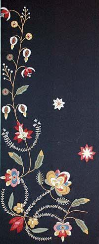 Norwegian shawl - Rogaland