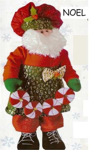 Patrón Noel goloso navideño