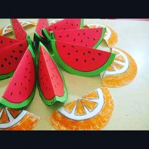 Fruit craft idea for kids   Crafts and Worksheets for Preschool,Toddler and Kindergarten