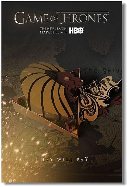 Игра престолов, Game of Thrones - постер, плакат, афиша №8