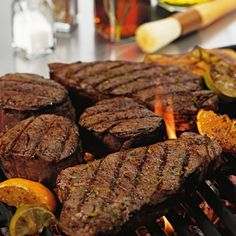 Steak Grilling Times