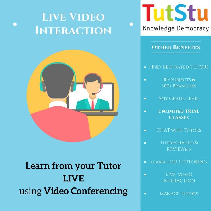 TutStu is a SAAS (Software As A Service), which gives you an opportunity to learn LIVE from Tutor. Students can Learn with the help of Video-conference with teachers.