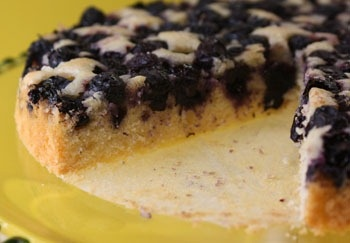 blueberry_nutmeg_cake_cut | CAKES | Pinterest