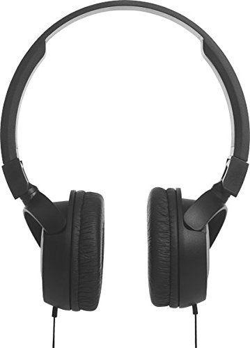 6d18ee1a84f JBL Harman T450 On-Ear Lightweight Foldable Headphones with Mic - Black,#Ear,  #JBL, #Harman, #Lightweight