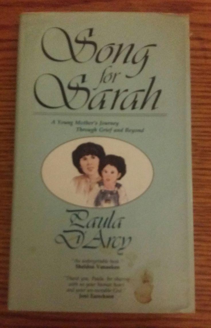 Book, Paula Darcy Song For Sarah