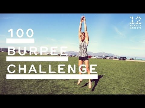 100 Burpee Challenge = Evil but effective. 8:30 for my first time... Let's see if I can improve on that next time!