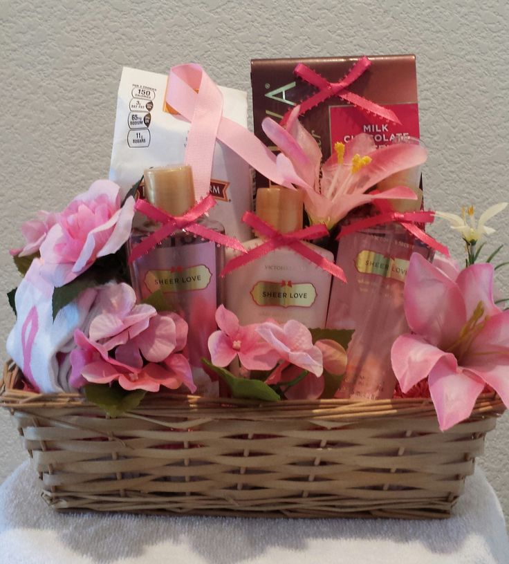 Breast Cancer Awareness/Survivors Gift Basket by Gifted Occakesions n Baskets