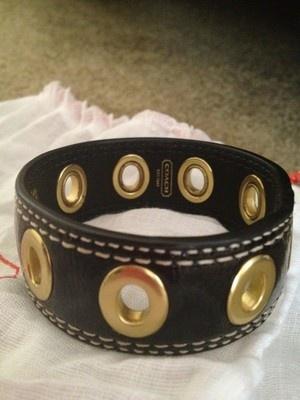 I love Coach Bracelets!Coaches Bracelets